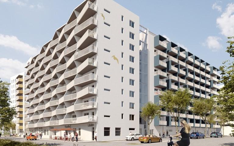 Skanska säljer hyresbostadsprojekt i Göteborg för cirka 530 miljoner kronor