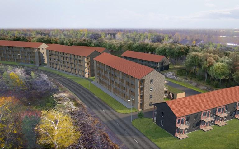 Skanska säljer hyresbostadsprojekt i Salem för cirka 270 miljoner kronor
