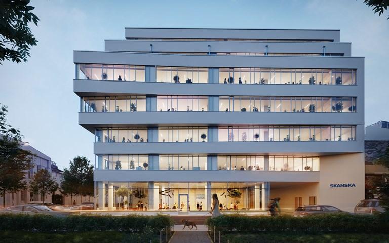 Skanska säljer kontorsbyggnad i Budapest, Ungern, för EUR 41 M, cirka SEK 431 M