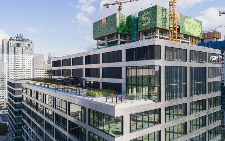 Skanska säljer kontorshus i Warszawa, Polen, för EUR 98 M, cirka 1,0 miljarder kronor