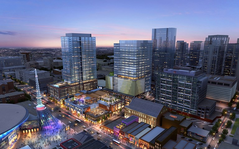 Skanska signs additional contract for mixed-use project in Nashville, USA, for USD 59 M, about SEK 534 M