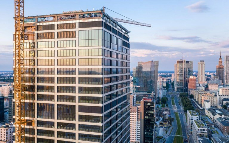 Skanska signs biggest lease ever in the company's history at Generation Park Y, a skyscraper in Warsaw, Poland
