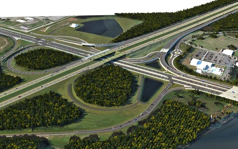Skanska transforms new interchange in Florida, USA, for USD 82M, about SEK 690M