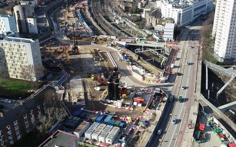 Skanska utför större pålningsarbeten för höghastighetsjärnvägen HS2, Storbritannien, för GBP 62M, cirka 720 miljoner kronor