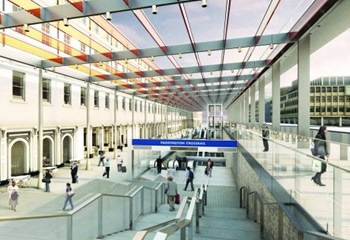 C405 - Crossrail Paddington Station Artist Impression
