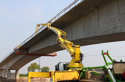 Construction of carriageway of eastern provincial road Bielany-Lany- Dlugoleka