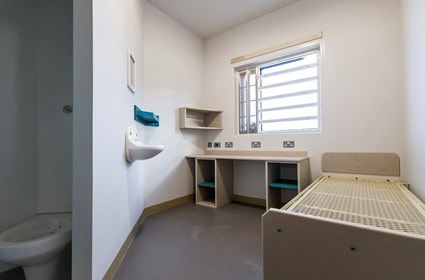Cells at HMP Grampian included individual washing and toilet facilities