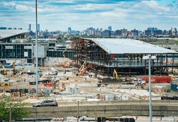 LaGuardia Central Terminal B Redevelopment project, New York, USA.