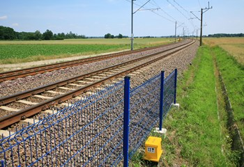 Railway line E-30 between Wegliniec and Legnica