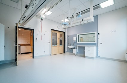 Intensive care room – Photographer Kristoffer Marchi