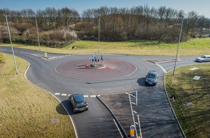 Staniland Way roundabout, Peterborough