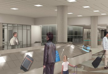 Phoenix Sky Harbor International Airport (PHX)  Terminal 4 N4 Concourse Renovation