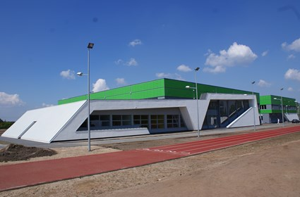 School and Sports Complex in Solec Kujawski
