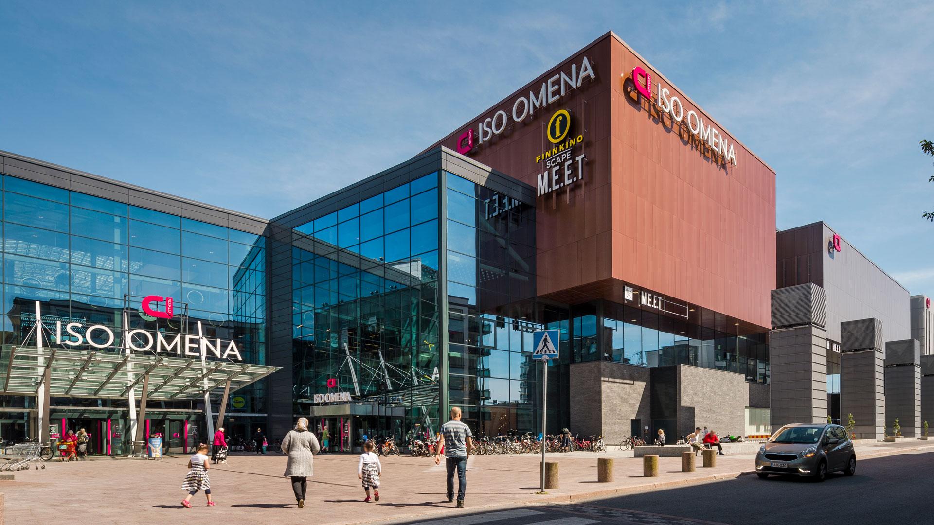 Shopping Center Iso Omena Skanska Global Corporate Website