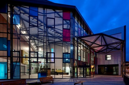 Manor Hospital, Walsall,  contains a new women, children and young people's centre linked to the existing maternity unit
