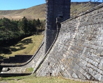 Upper Neuadd reseviour dam stability project